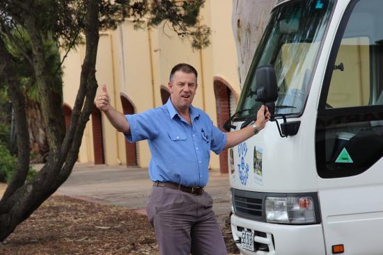 Enjoy Adelaide: Unser toller Reiseleiter Adrian.