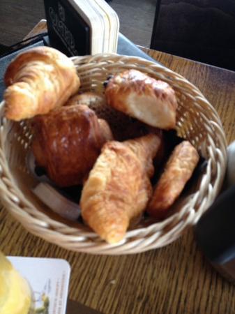 Heverlee, Bélgica: Heerlijke broodjes en koekjes