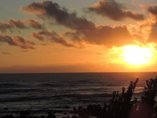 EL Golfo, España: Der Blick aufs Meer mit Sonnenuntergang