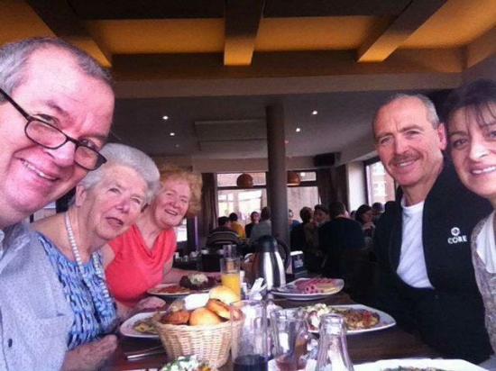 Heverlee, Bélgica: Ons aanwezig gezin