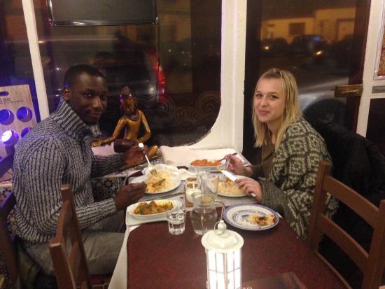 Clermont, França: Un couple de passage...