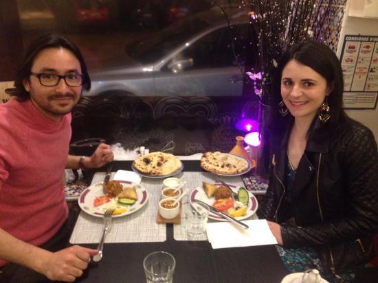 Clermont, França: Un autre couple...
