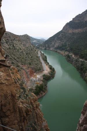 El Chorro, España: widok