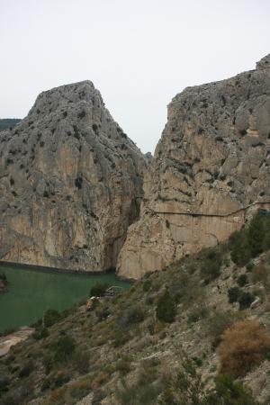 El Chorro, Spanyol: widok