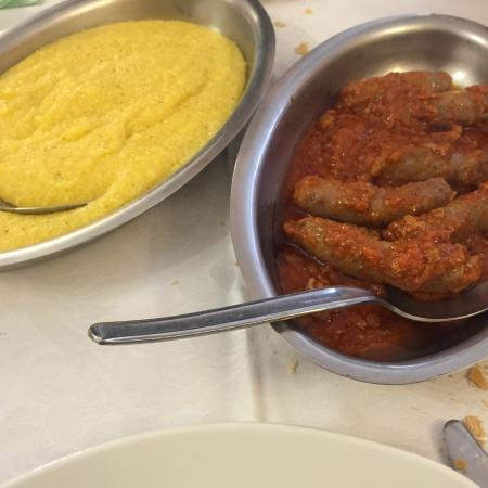 Valdieri, Włochy: Polenta e vitello tonnato!!! Buonissimi