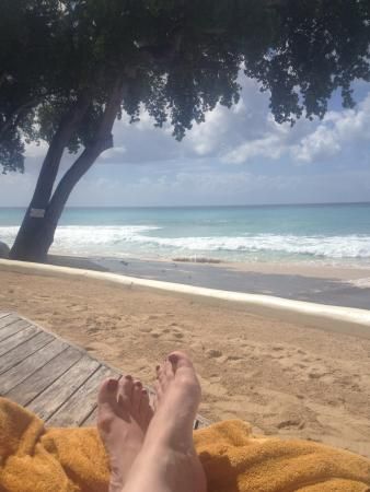 Paynes Bay, Barbados: View from sun deck