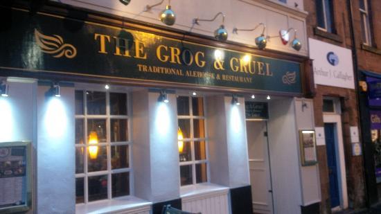 The Grog & Gruel: Nice traditional pub