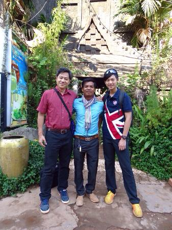 Siem Reap Province, Cambodia: Best friend from Taiwan !
