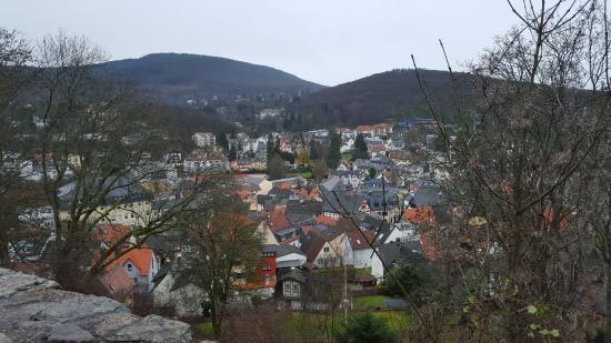 Burgruine: Königstein von Oben