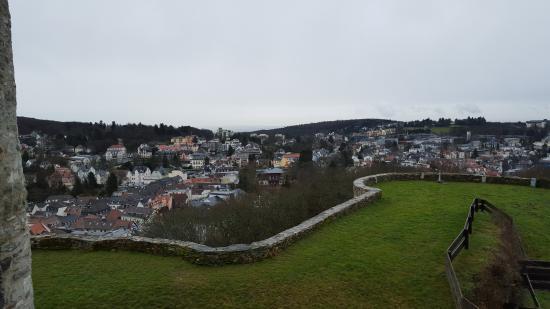 Königstein im Taunus, Germania: Blick Richtung Frankfurt