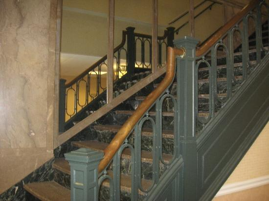 Stairwell in historic Kress building - Picture of SpringHill Suites