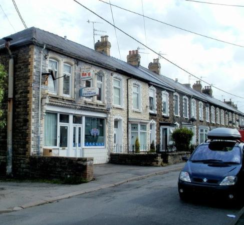 Pontypool, UK : Wainfelin chip shop