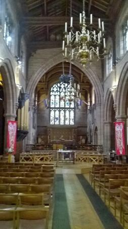 Macclesfield, UK: View to the Altar
