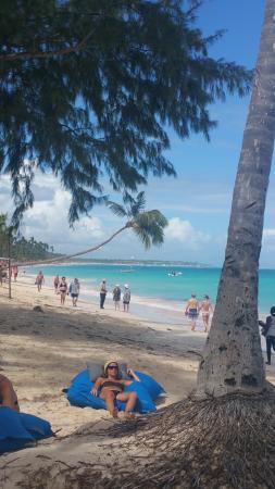 Presidential Suites - Punta Cana: The beach pillows rock