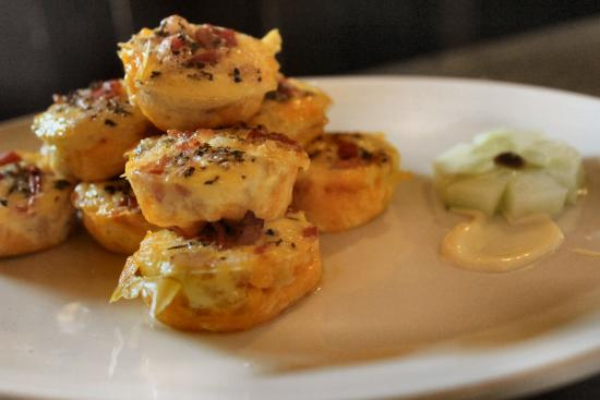 Balule Private Game Reserve, Zuid-Afrika: Homemade mini quiches