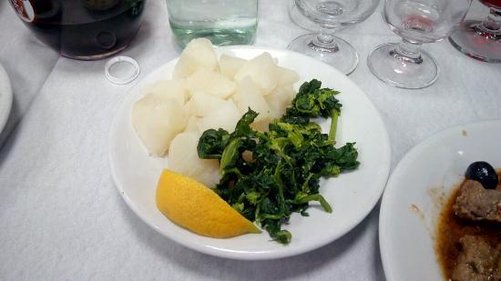 Castel Giorgio, Italia: Radicchio e broccoli