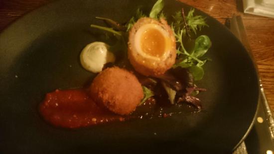 Haytor Vale, UK: Delicious food at the Rock inn Haytor
