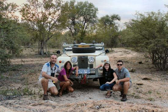 Balule Private Game Reserve, Zuid-Afrika: Guests enjoying their time with Roamers Rest