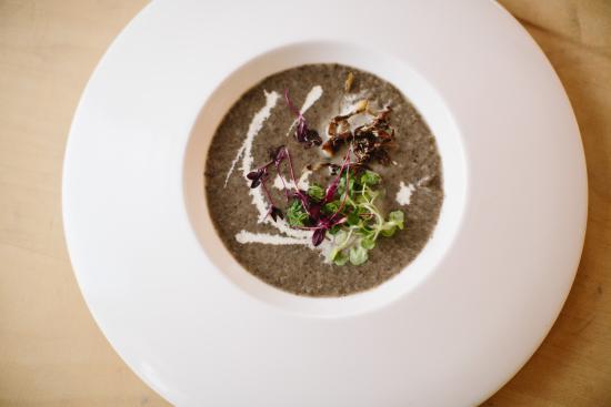 Burton upon Trent, UK: Mushroom soup