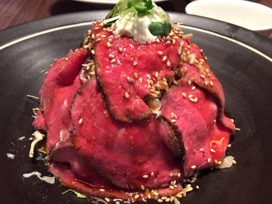 Toyonaka, Япония: ローストビール丼