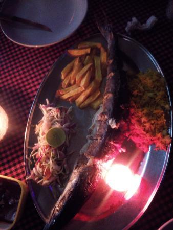 Pinacolada Beach Shack: Grilled baraccuda was so tasty!!!!!!