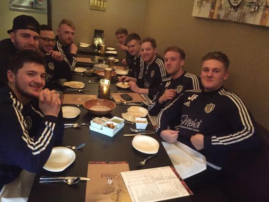 Camberley, UK : DCFC boys @mehdi