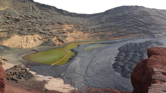 EL Golfo, España: El Lago Verde