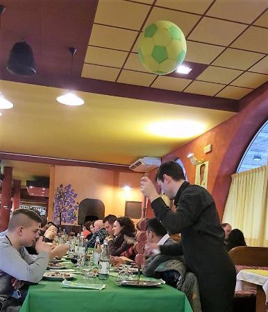 Piombino Dese, Italia: Una tavolata