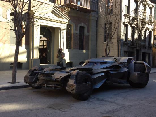 Burbank, CA: The batmobile!