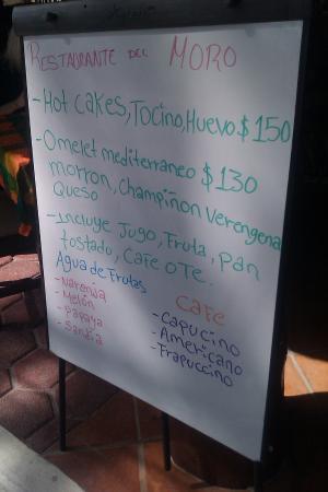 breakfast hotcakes hotel el moro puerto morelos