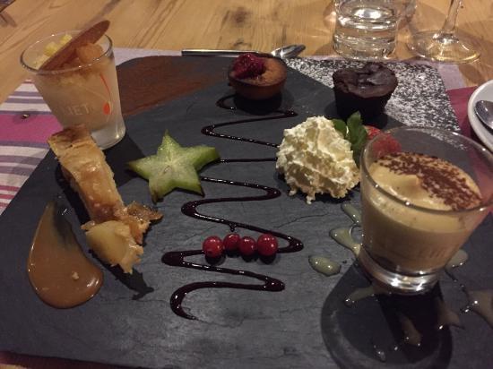 Le Belvédère : Café gourmand maison: un délice