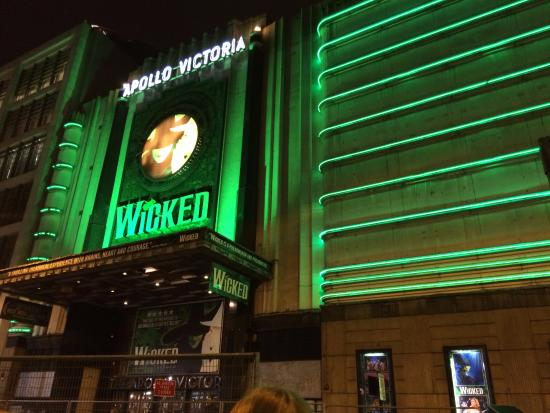 Wicked the Musical: Outside