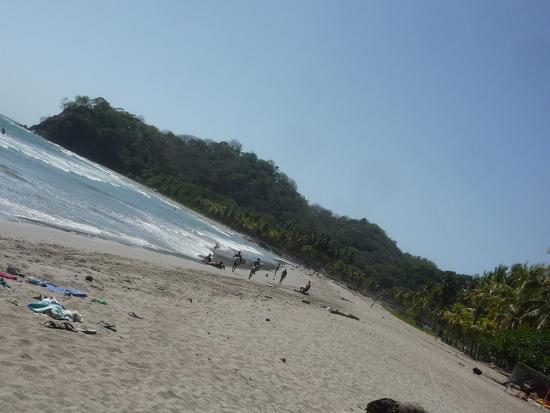 Playa Samara, Costa Rica: Всё это тоже пляж Samara