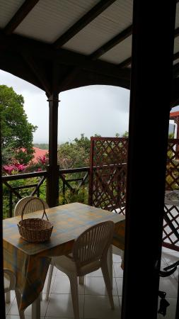Trois Rivieres, Guadeloupe: The porch