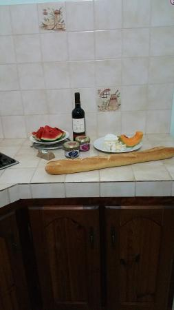 Trois Rivieres, Gwadelupa: Dinner in the kitchen :-)