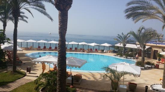 Iberostar Grand Hotel Salome: Blick von der Terrase/Balkon aus