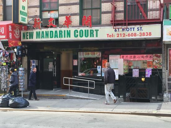 Mandarin Court Restaurant Nyc