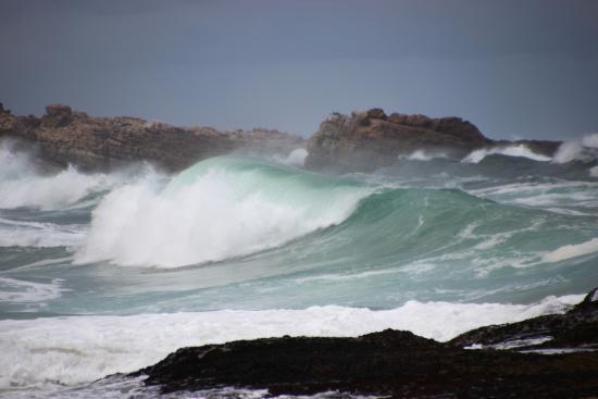 Plettenberg Bay, Sudáfrica: Das Meer ist einfach gewaltig