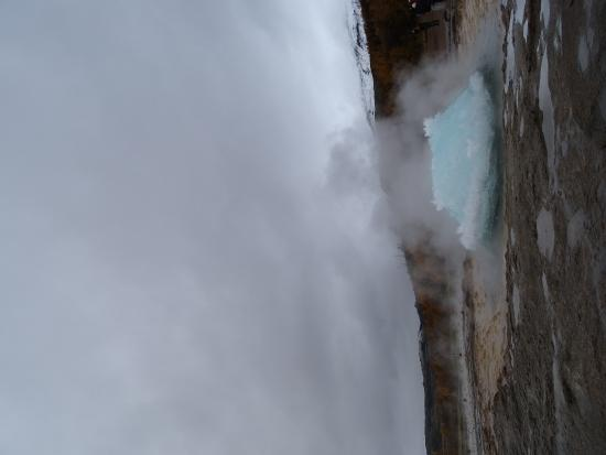 Selfoss, Island: Wait for it!