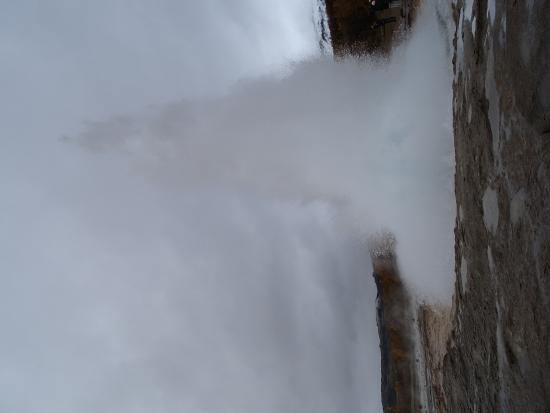 Selfoss, Island: There she blows!
