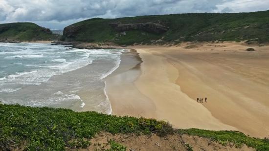Plettenberg Bay, Sudáfrica: Nur durch die Personen erkennt man die Dimensionen