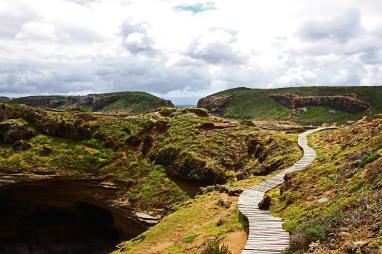 Plettenberg Bay, Republika Południowej Afryki: Auf dem Rückweg