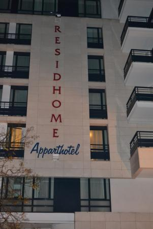 Bois Colombes, Frankrijk: Facciata Hotel