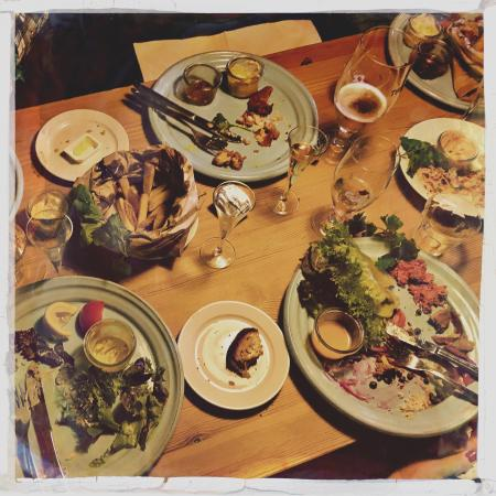 Gilleleje, Denmark: The aftermath of a very good meal