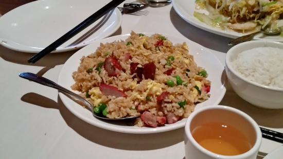 Panda Inn Restaurant: The pork fried rice was a delight and almost a meal in itself.