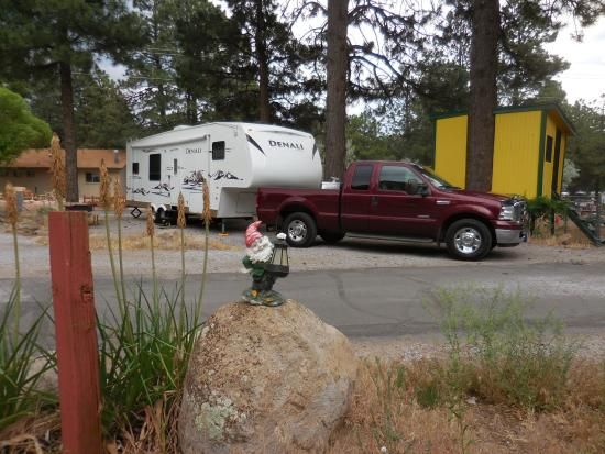 Flagstaff Grand Canyon KOA: Campsite #167 at the Flagstaff KOA