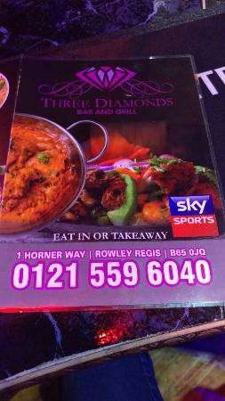 Three Diamond Bar & Grill Ltd
