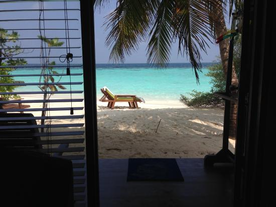 Eriyadu Island Resort: beach bungalow deluxe