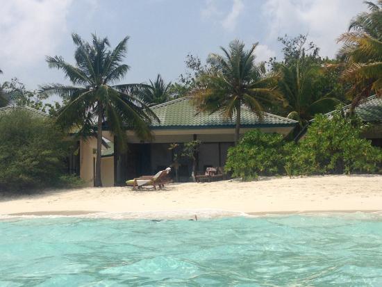 Eriyadu Island Resort: beach bungalow deluxe con spiaggia