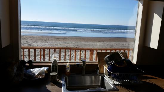 Stinson Beach, CA: View from the Kitchen